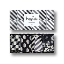 Happy Socks Seasonal Black & White Gift Box