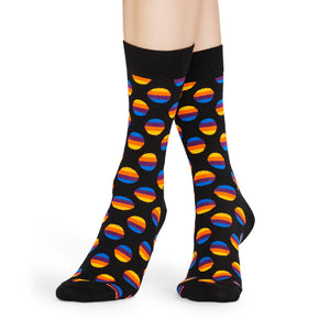 Happy Socks Sunrise Dot Black