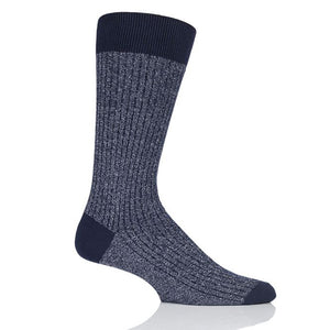 Pantherella Cotton/Cashmere Scala Navy