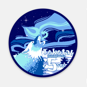 5th Anniversary Sticker (9 Designs Available)