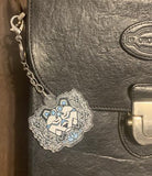 Faction Logo Charm Keychain