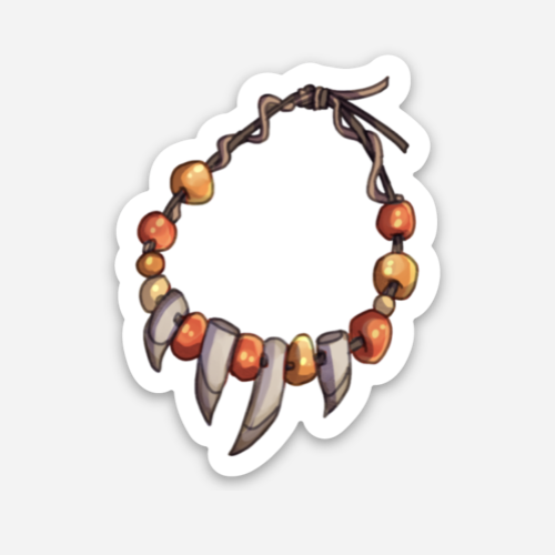 Hollow Maw Talisman Sticker