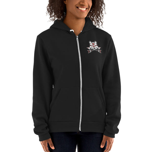 Official Pack Leader Zip Up Hoodie