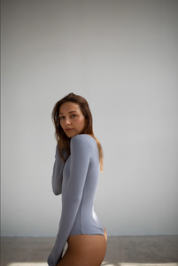 LONG SLEEVES BODYSUIT STONE BLUE