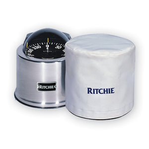 "Ritchie GM-5-C GlobeMaster 5"" Binnacle Cover - White [GM-5-C]"
