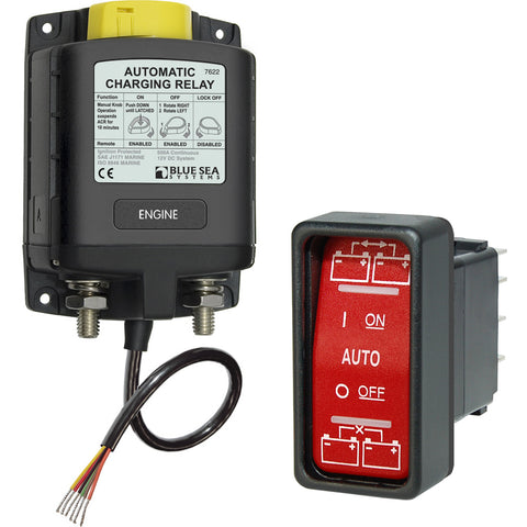 Blue Sea 7622 ML-Series Heavy Duty Automatic Charging Relay [7622]