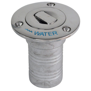 "Whitecap Bluewater Push Up Deck Fill - 1-1-2"" Hose - Water [6995CBLUE]"
