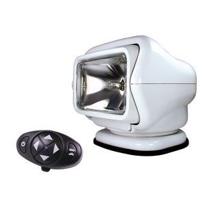 Golight Stryker Searchlight 12V w-Wireless Dash Remote - White [3100]
