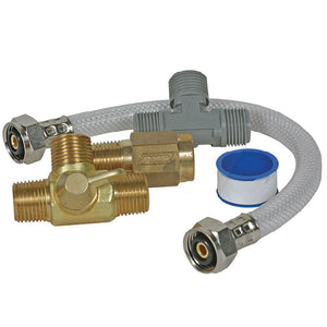Camco Quick Turn Permanent Waterheater Bypass Kit [35983]