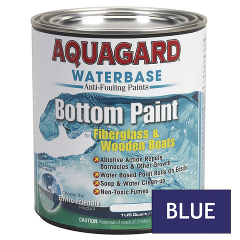 Aquagard Waterbased Anti-Fouling Bottom Paint - 1Qt - Blue [10003]