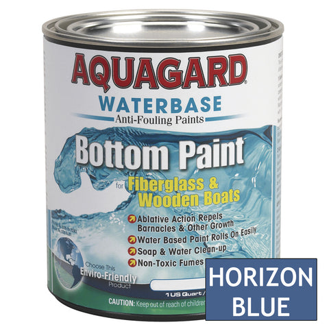 Aquagard Waterbased Anti-Fouling Bottom Paint - 1Qt - Horizon Blue [10006]