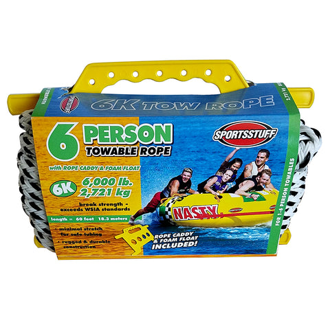 SportsStuff 6K Tow Rope - 6-Person - 60 [57-1542]