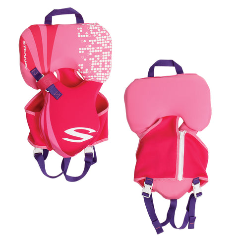 Stearns Infant Hydroprene Vest Life Jacket - Up to 30lbs - Pink [2000019828]