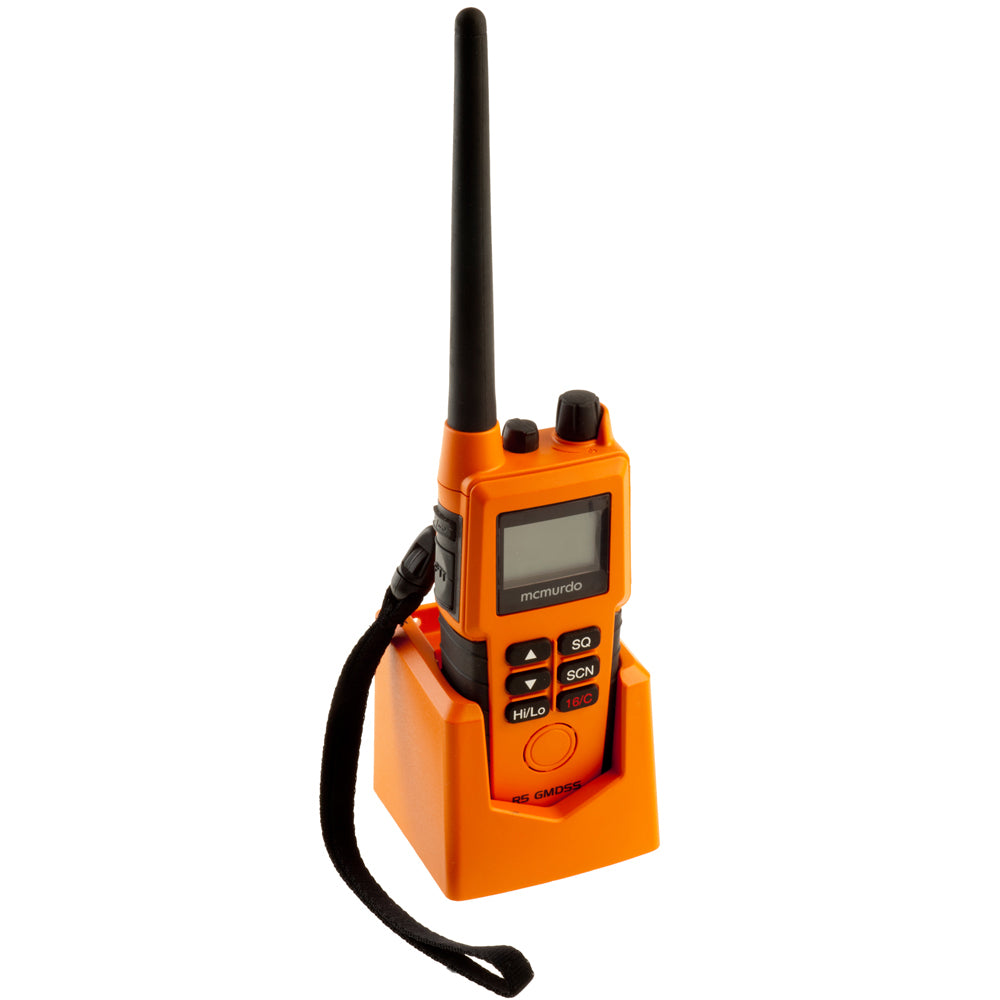 McMurdo R5 GMDSS VHF Handheld Radio - Pack B - Survival Craft Option [20-001-02A]