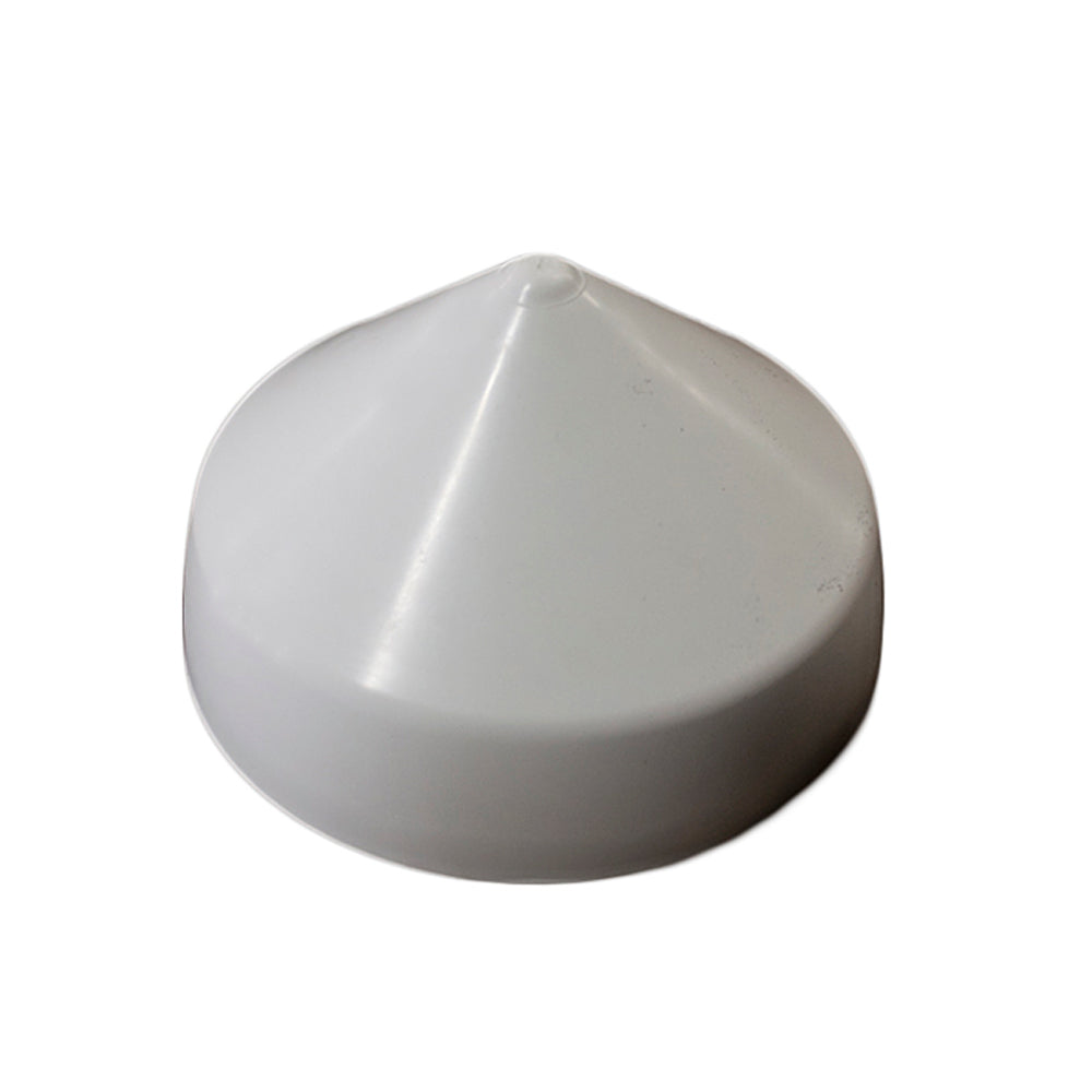"Monarch White Cone Piling Cap - 9"" [WCPC-9]"