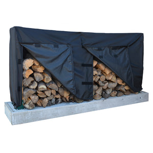 Dallas Manufacturing Co. 600D Log Rack Storage Cover - Model 8' [LRC1008]