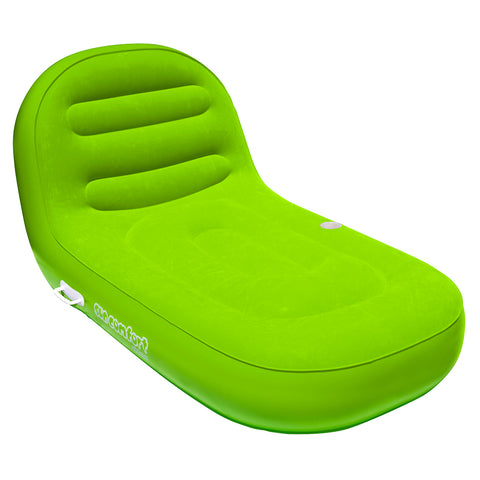 AIRHEAD SunComfort Cool Suede Chaise Lounge - Lime [AHSC-007]