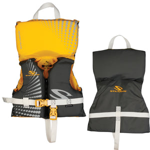 Stearns Infant Antimicrobial Nylon Life Jacket - Up to 30lbs - Gold Rush [2000029261]