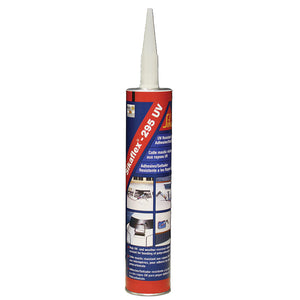 Sika Sikaflex 295UV UV Resistant Adhesive-Sealant - 10.3oz(300ml) Cartridge - White [412419]