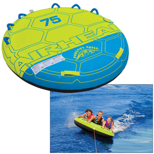 AIRHEAD Comfort Shell Deck Water Tube - 3-Rider [AHCS-75]