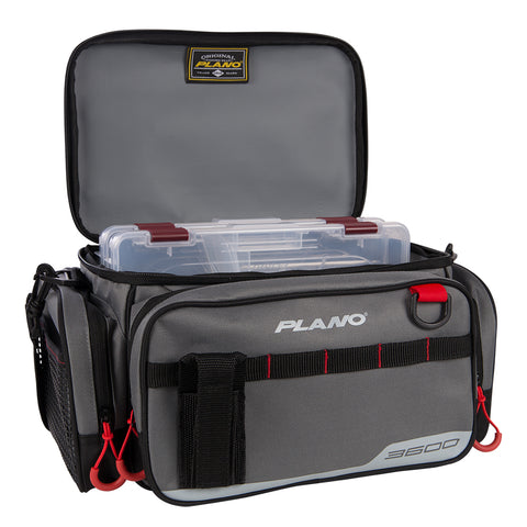 Plano Weekend Series Tackle Case - 2-3600 Stowaways Included - Gray [PLAB36110]