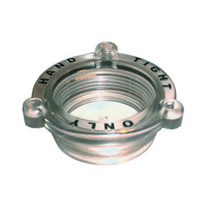 GROCO Non-Metallic Strainer Cap Fits ARG-1500  Larger [ARG-1501-PC]