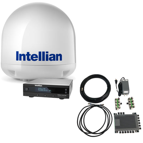 Intellian i4 All-Americas TV Antenna System + SWM16 Kit [B4-I4SWM16]