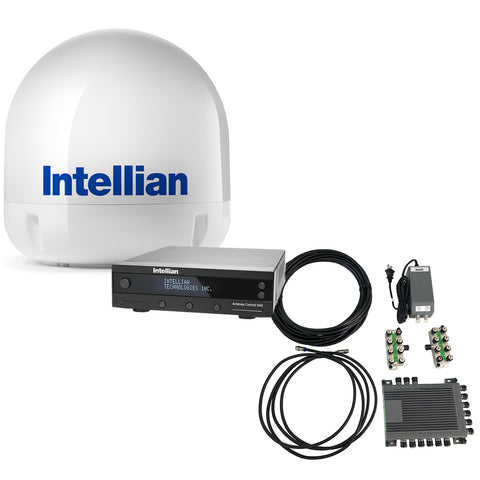 Intellian i6 All-Americas TV Antenna System + SWM16 Kit [B4-I6SWM16]