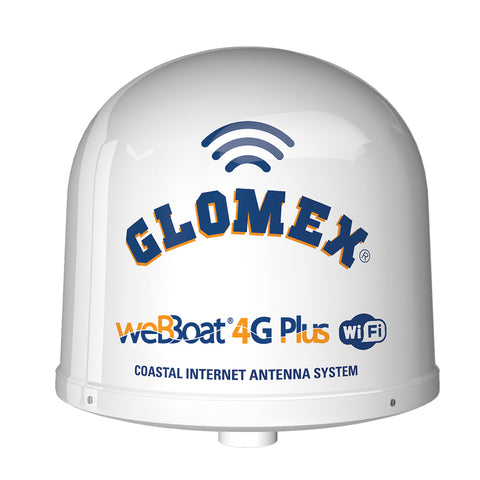 Glomex weBBoat 4G Plus 3G-4G-Wi-Fi Coastal Internet Antenna - North America  Canada Only [IT1004PLUS-US]