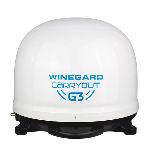 Winegard Carryout G3 Automatic Portable Satellite TV Antenna - White [GM-9000]
