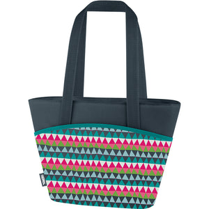 Thermos Raya 9 Can Lunch Tote - Colorful Triangles [C58409004]