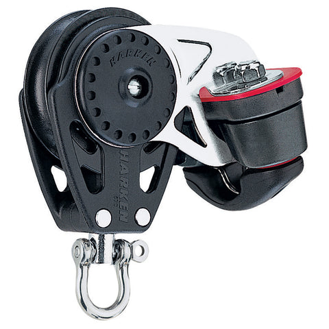 Harken 40mm Carbo Air Block w-Cam Cleat [2645]