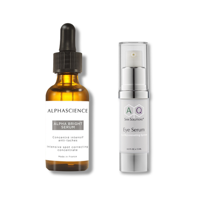 ALPHA BRIGHT SERUM by ALPHASCIENCE & AQ Eye Serum