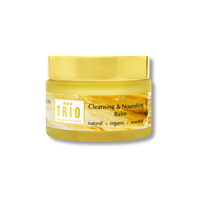 trio cleansing & nourishing balm