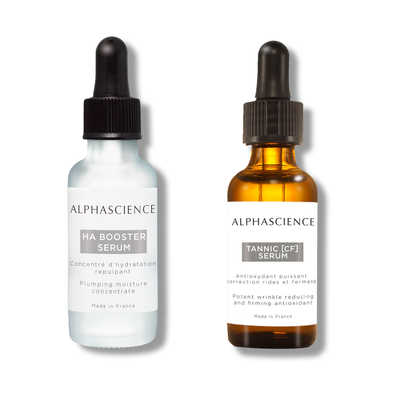 Ha booster serum and Tannic CF Serum by ALPHASCIENCE