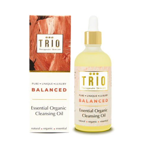 Trio Therapeutic Skincare - Balanced - Essential Organic Cleansing Oil