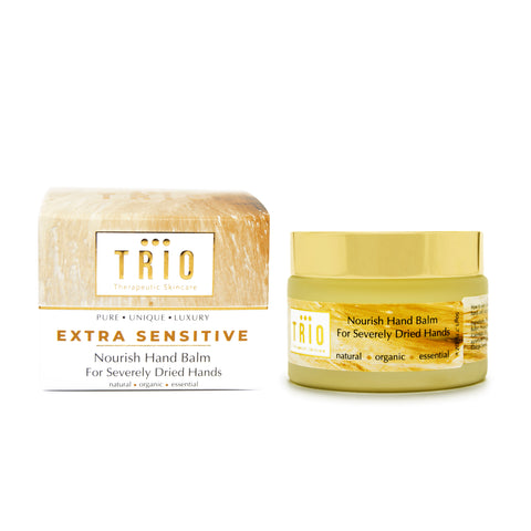 Trio Therapeutic Skincare - Extra Sensitive - Nourishing Hand Balm for Severely Dry Hands