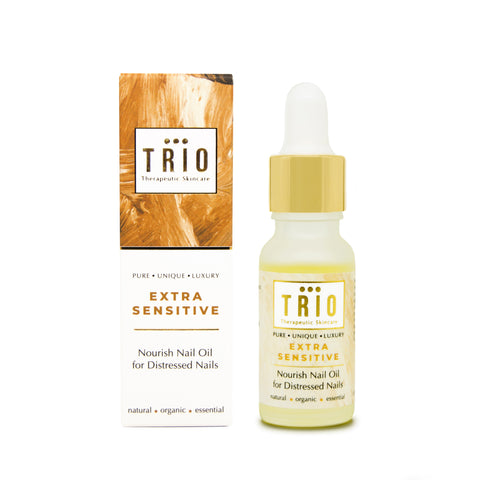 Trio Therapeutic Skincare - Extra Sensitive - Nourish nail oil for distressed nails