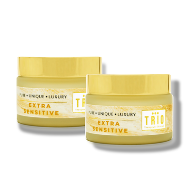trio set includes extra sensitive nourishing hand and foot balm