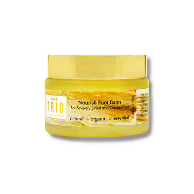 TRIO Nourish Foot Balm Severely Dried and Cracked Feet