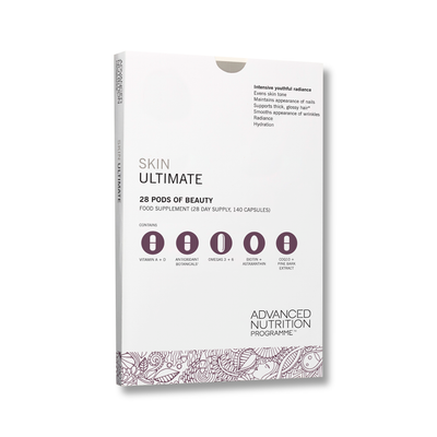 skin ultimate 28 pods of beauty - food supplement (total 140 capsules)