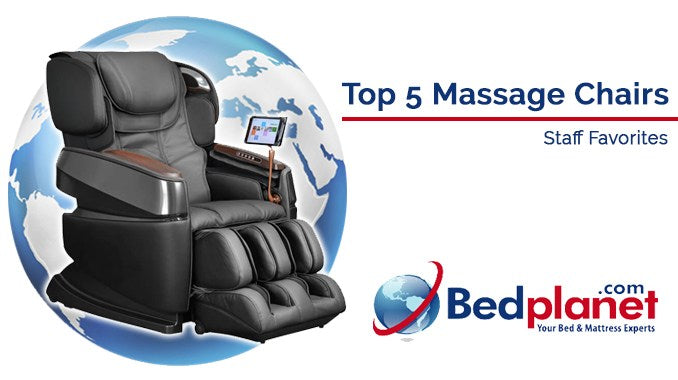 Top 5 Massage Chairs – Staff Favorites
