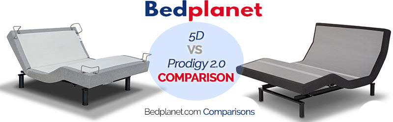 Reverie 5D Adjustable Base vs Leggett & Platt Prodigy 2.0 Adjustable Base