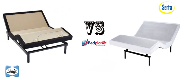 Sealy Ease Adjustable Base VS Serta Motion Essentials II Adjustable Base Comparison