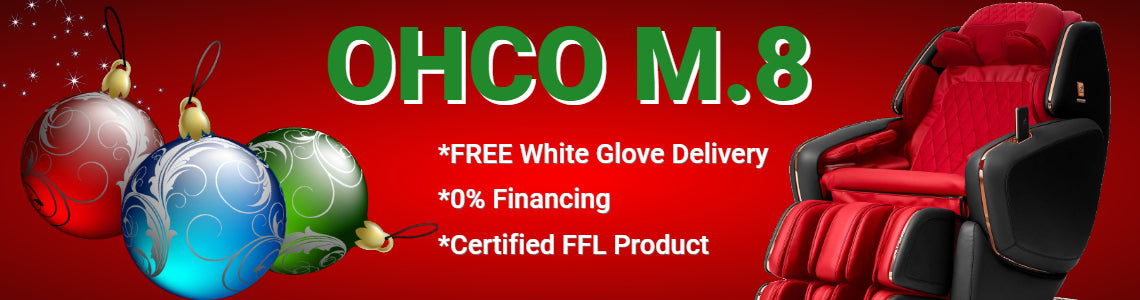 ohco holiday massage chair deal