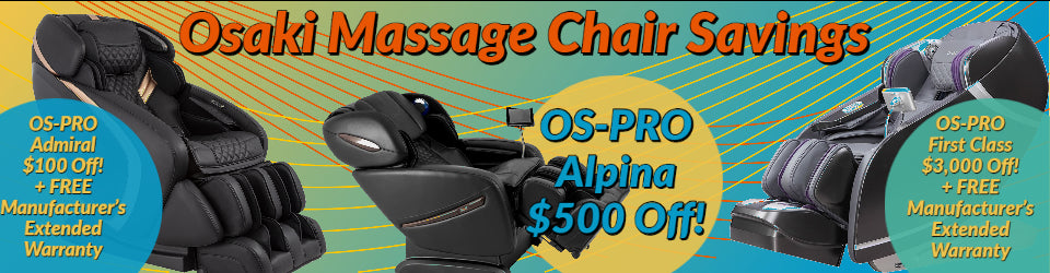 osaki massage chair deal