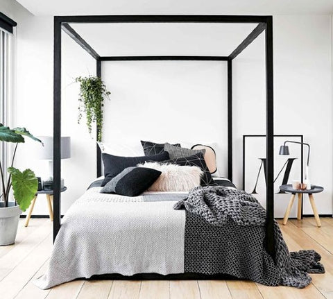 four poster bed modern