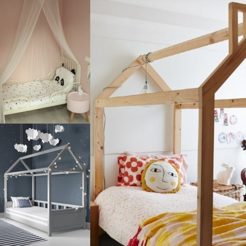 kids four poster bed canopy bed