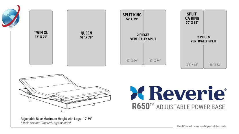 adjustable bed size guide