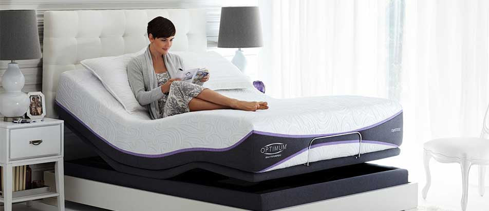 Sealy Optimum Brasswood Latex Mattress